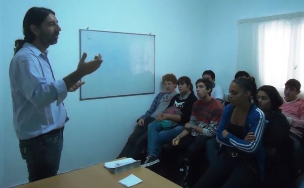 """""""Desde el Municipio trabajamos por la inclusión y el desarrollo de los jóvenes y próximamente inauguraremos la Casa del Joven"""""""