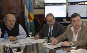 Miembros del Comité Permanente de Seguridad fueron recibidos por el Ministro de Seguridad de la Provincia