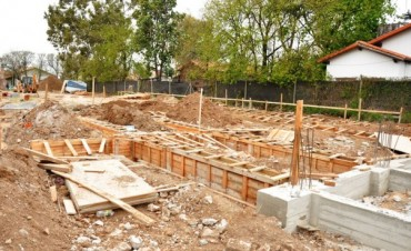 """Son obras que construimos hoy, pero que sabemos que quedarán en el patrimonio campanense de por vida"""