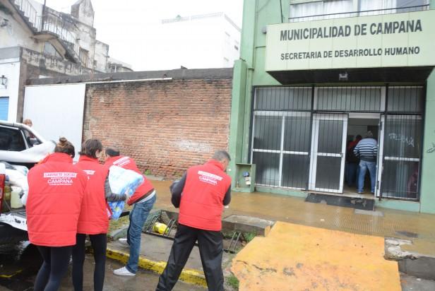 """El Colegio de Magistrados y Funcionarios concretó una """"Campaña Solidaria"""" en beneficio de los vecinos damnificados por el temporal"""