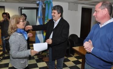 El Municipio realizó un nuevo acto de entrega de Pensiones Nacionales