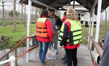 El Municipio junto a los Isleños: Se asistió a los vecinos del sector ante la creciente del Río Paraná
