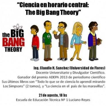"""Se realizará la jornada """"Ciencia en horario central: The Big Bang Theory"""""""