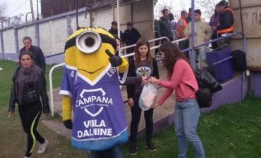 Villa Dálmine y Monsanto concretaron una Jornada Solidaria por los damnificados por las inundaciones