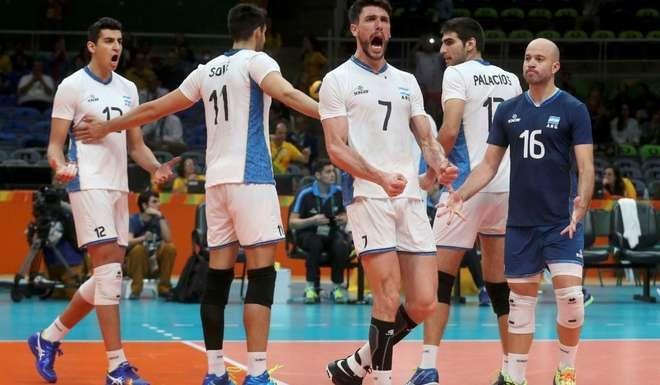 La Selección argentina de vóleibol le ganó por 3 a 1 a Rusia, último campeón olímpico