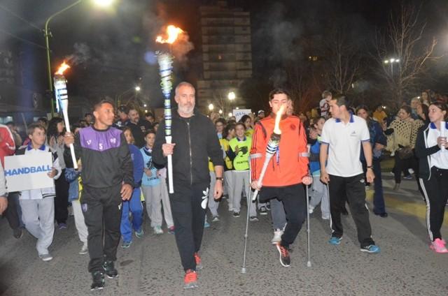 El espíritu olímpico se hizo presente en la ciudad
