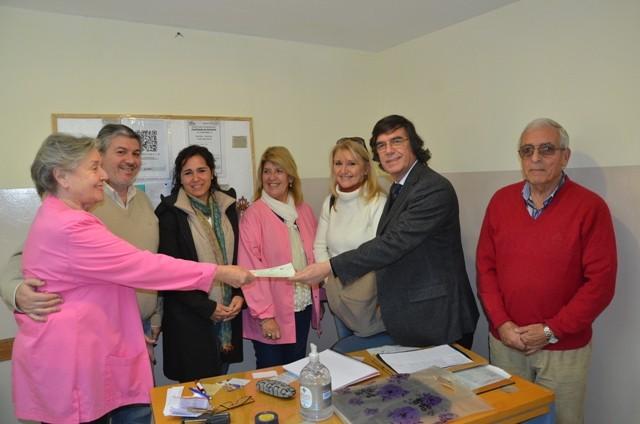 El Hospital Municipal San José recibió una nueva donación de Chacras de la Reserva