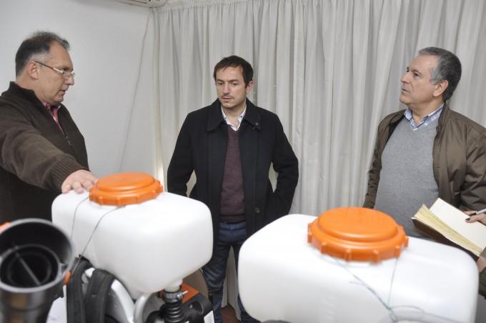 El Municipio adquirió dos equipos nuevos para las tareas de fumigación