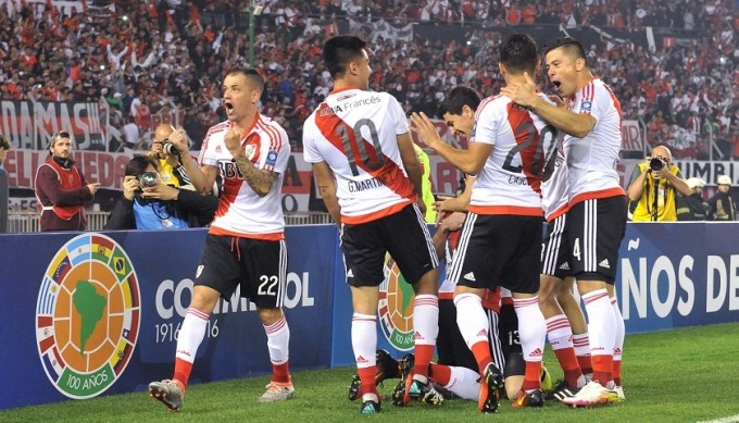 River Plate le ganó a Independiente Santa Fe por 2 a 1 y es campeón de la Recopa Sudamericana