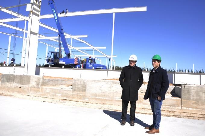 El Intendente recorrió las instalaciones de la empresa Qbox