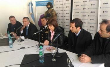 Bullrich y Abella destacaron la labor de la Policía Federal de Campana que dio un duro golpe al narcotráfico