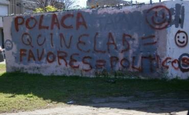 Andrea García se refirió a las pintadas sobre su persona que aparecieron en paredones de la ciudad