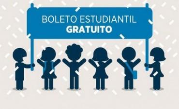 Desde mañana se puede tramitar el boleto estudiantil gratuito en la Dirección de Tránsito y Transporte