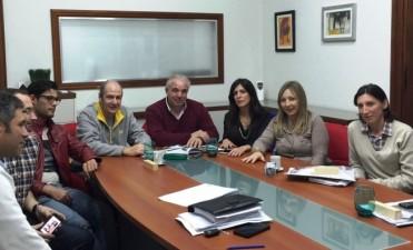 Funcionarios municipales se reunieron con el Colegio de Arquitectos de la Provincia