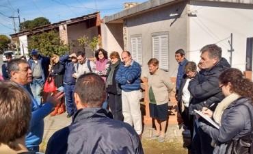 Vecinos de Nuevo Dalmine se reunieron con Sergio Roses para analizar medidas de seguridad