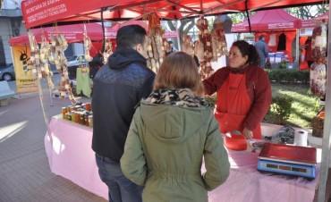 Con muchas novedades, la Feria de Productores Locales estará hoy en la Plazoleta Belgrano