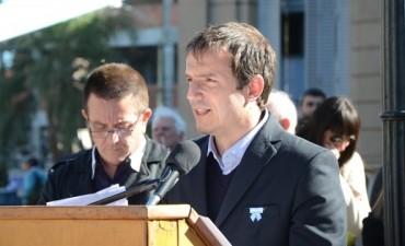 El Intendente encabezó el acto de conmemoración por el 166 aniversario de la muerte de San Martín