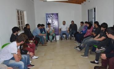 En el marco de Campana Joven, se realizó un nuevo encuentro con jóvenes de la ciudad