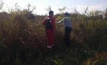 Defensa Civil colaboró en la búsqueda de una niña de 5 años perdida