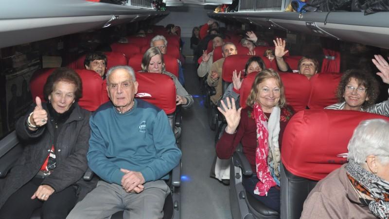 Programa Turismo Grande: jubilados y pensionados viajaron gratis a Córdoba