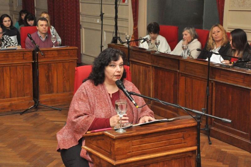 La vecina Claudia Giordano hizo uso de la Banca Abierta