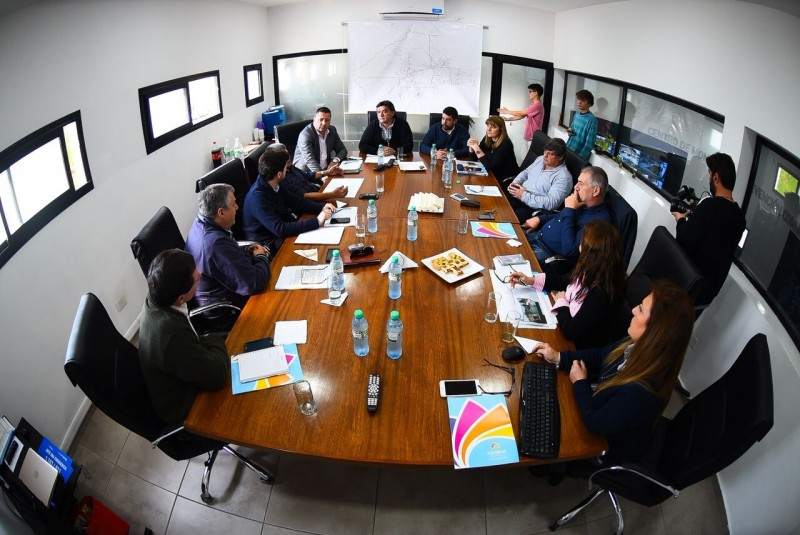 Nueva reunión de la comisión de Seguridad del consorcio Región Norte 2 en Escobar