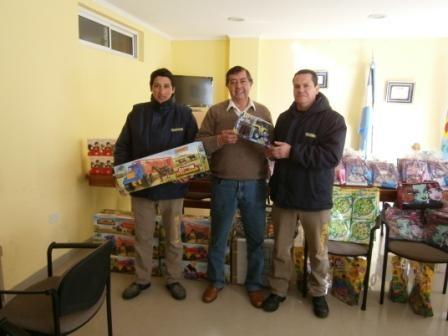 El Centro de Empleados de Comercio entregò juguetes para los hijos de sus afiliados