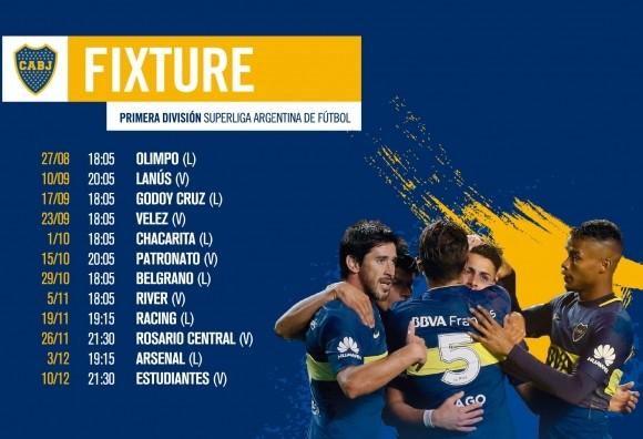 Conocè los rivales de Boca Juniors en la Sùperliga que comienza el fin de semana