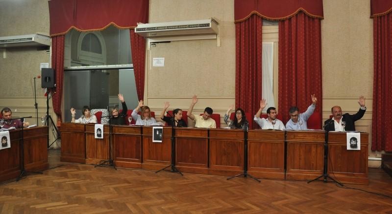 Carlos Cazador y Mariano Ranieri analizaron la ùltima sesiòn del H.C.D