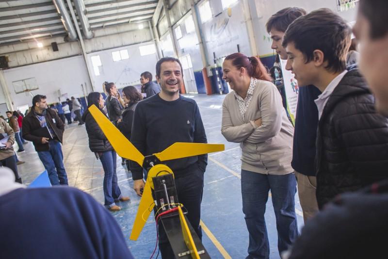 Campana fue sede de la Feria de Educación, Arte, Ciencia y Tecnología