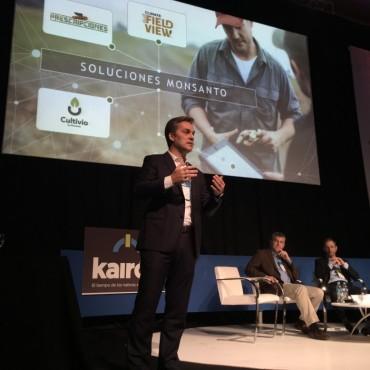 """Monsanto presentó """"La agricultura del futuro"""" en el 25° Congreso de AAPRESID:  """"YA ESTAMOS EN LA ERA DE LA AGRICULTURA DIGITAL"""""""