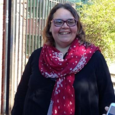 Romina Buzzini cumpliò con su voto en la Escuela Media Nº 2