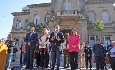 Campana conmemoró el 167º aniversario del fallecimiento del general José de San Martín