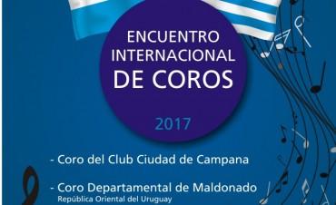 ENCUENTRO INTERNACIONAL DE COROS EN EL CLUB CIUDAD DE CAMPANA