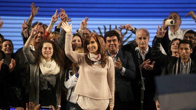 Cristina Fernàndez ganó en la Provincia de Buenos Aires por 20.324 votos