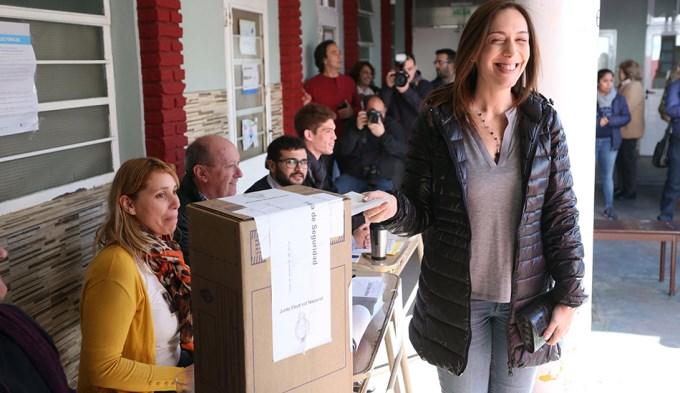 Marìa Eugenia Vidal: no pienso en una futura candidatura