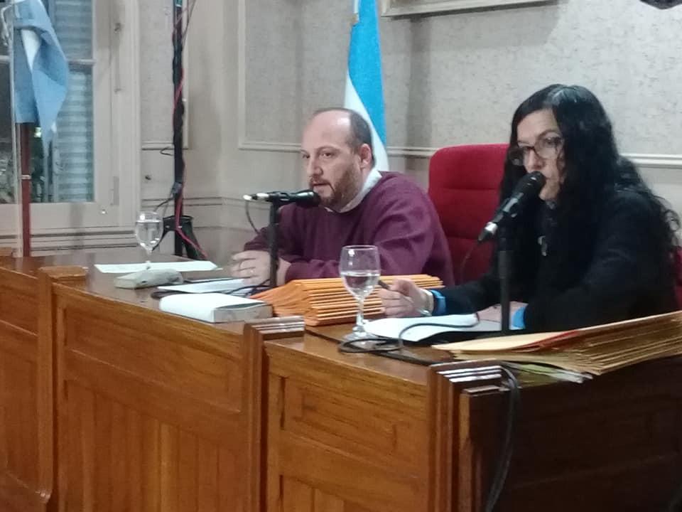 Se realiza la sesión ordinaria del Honorable Concejo Deliberante