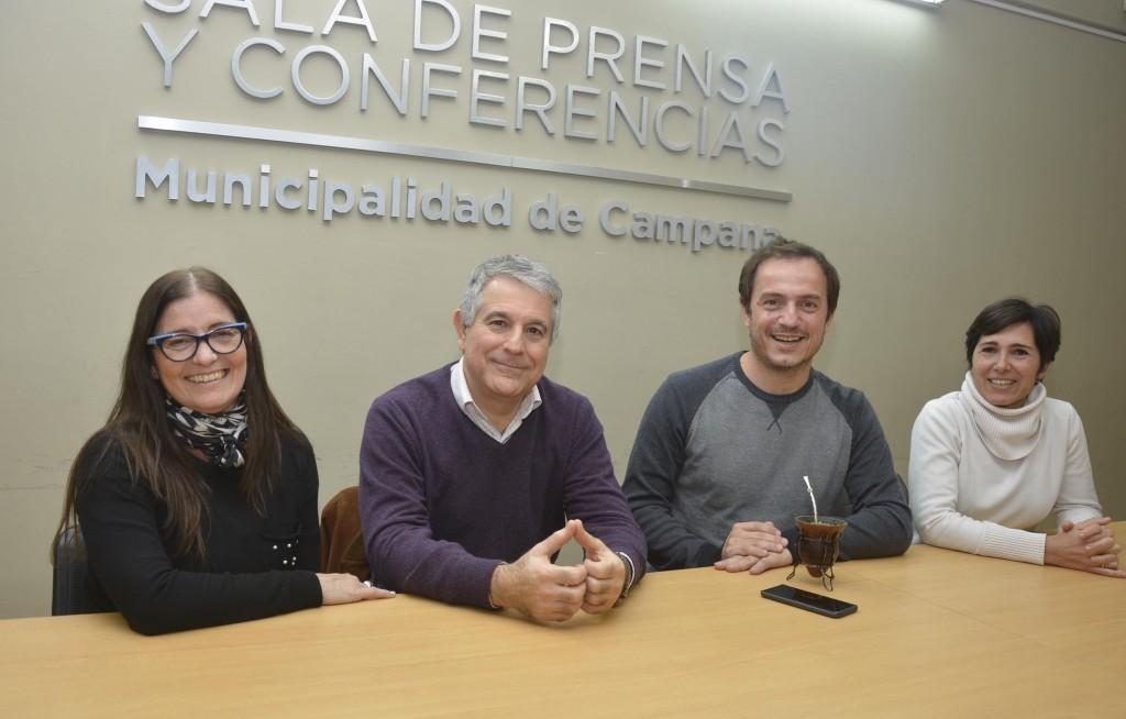 Abella presentó a Eleonora Penovi como directora de Salud Comunitaria