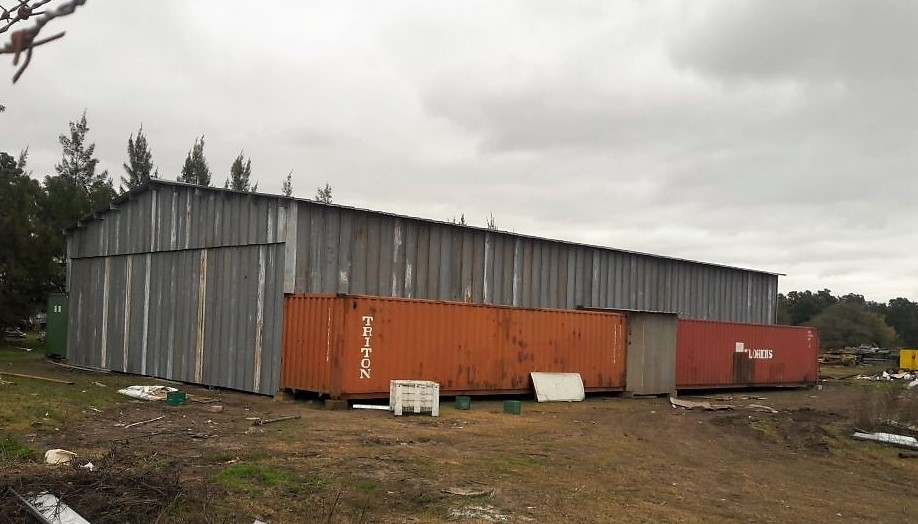 El Municipio inició la construcción de un centro de acopio y clasificación de residuos