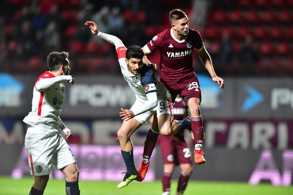 San Lorenzo de Almagro  y Lanús empataron 2 a 2