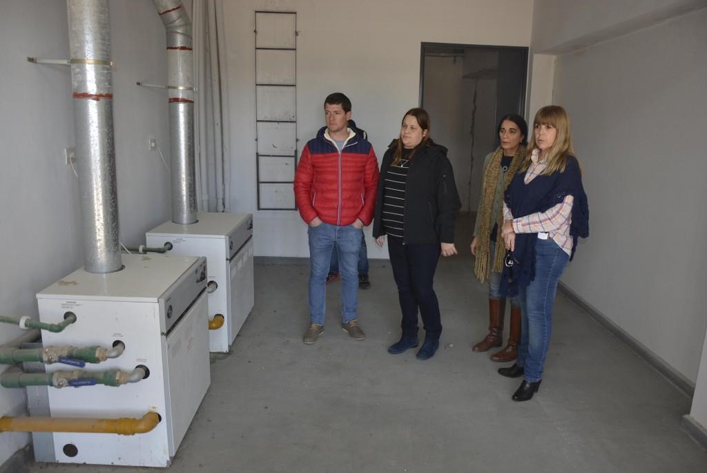 El Municipio y Consejo Escolar constataron el estado de edificios escolares