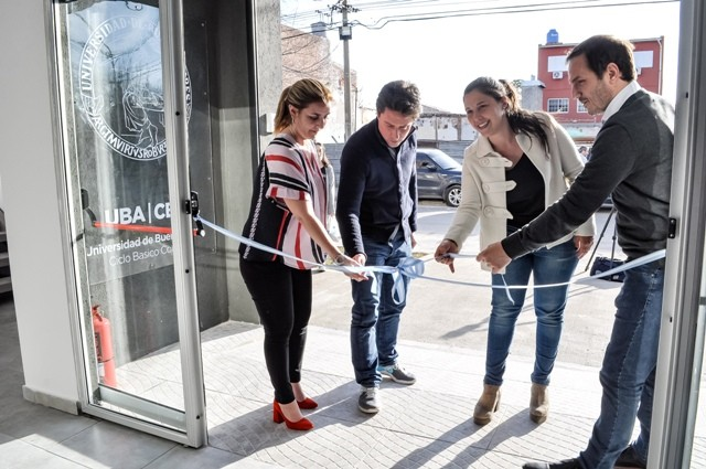 Abella inauguró el nuevo Centro Educativo Municipal