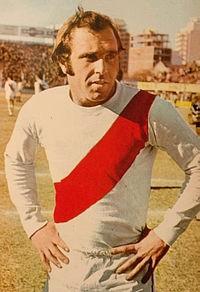 Daniel Onega en la previa de River Plate vs Racing Club