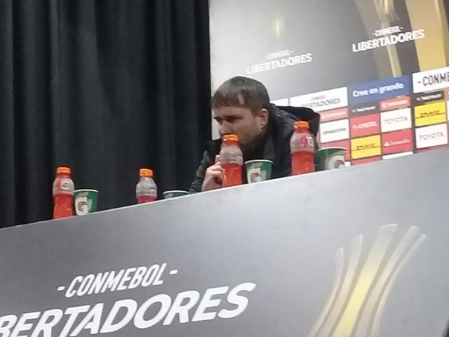 Eduardo Coudet analizó la derrota de Racing Club ante River Plate