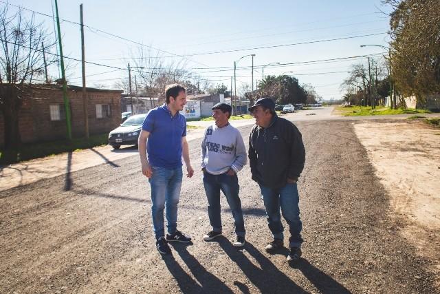Las Acacias y Santa Lucía suman calles con RAP