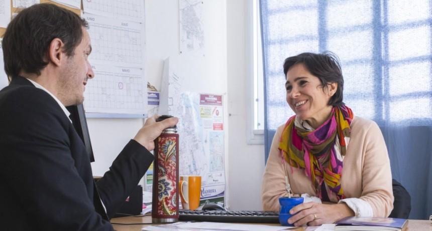 El Intendente designó a Cecilia Acciardi como secretaria de Desarrollo Social