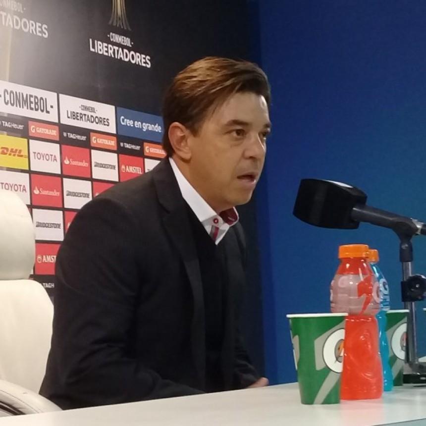 Marcelo Gallardo: valoro el resultado que nos va a permitir definir en nuestra cancha