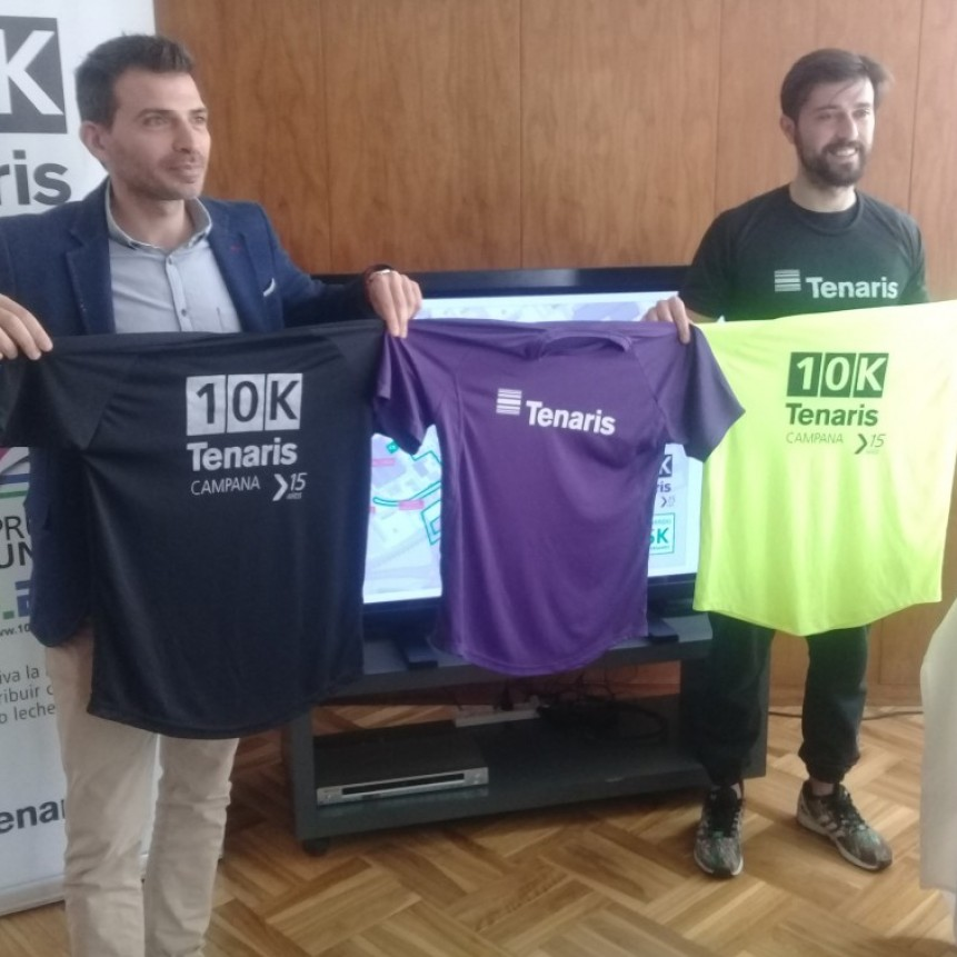 Se llevò a cabo el lanzamiento de la Maratòn Tenaris 10 k en su 15º Ediciòn