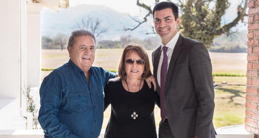 Urtubey y Duhalde, juntos en Salta
