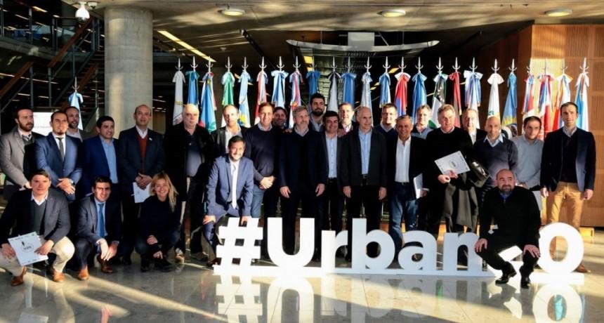 El intendente Abella participó de la presentación del Urban20